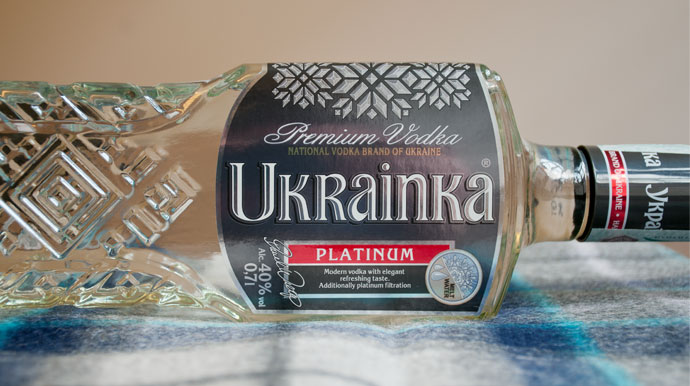 "Vodka Ukrainka ""Platinum"""
